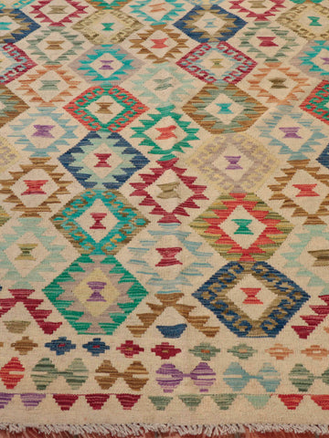 Kilims are a great alternative to piled rugs