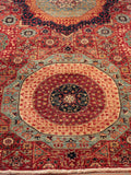 This Mamluk features wonderful, rich colours that capture any eye in the room