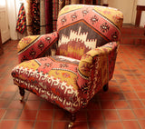 Turkish kilim Howard Chair - 285343