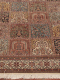 Kashmir Silk featuring a garden design commissioned by Shah Abbas