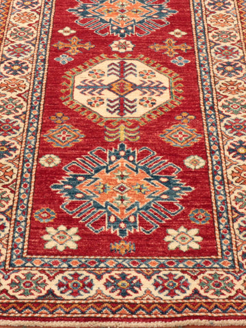Fine Afghan Kazak long runner - 295500