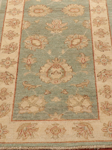 This Afghan Ziegler has a very traditional design from around the Victorian times, thank to William Morris