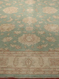 The Afghan Ziegler carpet has a soft gentle calming feel.