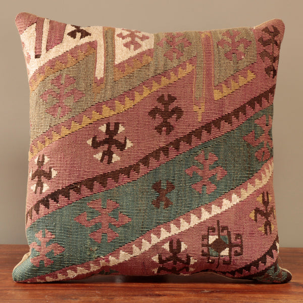 Turkish Kilim Cushion - 295525