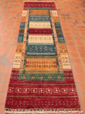 With its various vibrant colours and modern design, this Nomad rug is sure to find a place in a long hallway