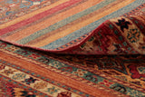 The back of the carpet, is a great way of determining the quality of the piece.
