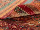 We encourage you to look at the back of our records as they give certainty in production methods and quality. It is also a great way of sorting hand made rugs from machine made items
