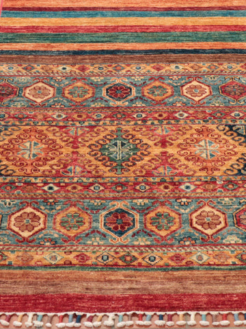 These lovely Samarkand runners have a rich, vibrant colourset