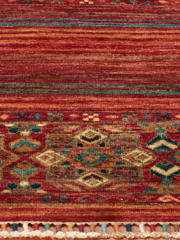 This Afghan Samarkand has a wonderful array of colours