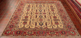 This Kazak is almost square, making it perfect for entrance areas.