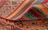 Fine quality weave in this Afghan Samarkand runner