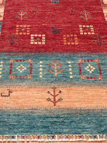 Afghan loribaft rugs can also be known as nomad rugs