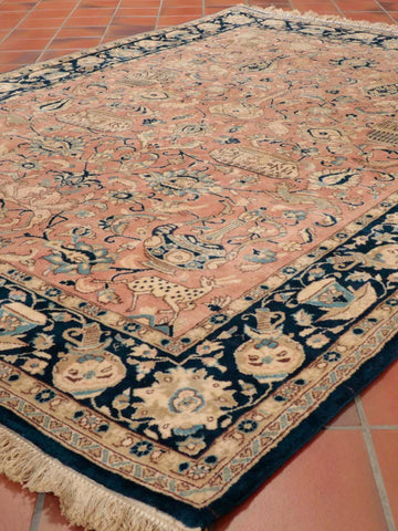 Persian Qum wool and Silk carpet - 295591