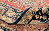 When investing in a top quality carpet it is better to look at the back to determine how fine the knotting is.