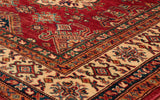 Afghan Kazak rugs have a lot of intricacy and detail in each section