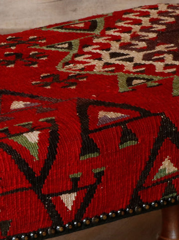 Turkish kilim stool - 295626