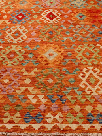 Large Afghan Kilim carpet - 295670