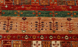 A beautiful hand made Afghan rug suitable for any room in the home.