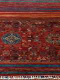 a fine example of modern Afghan carpet weaving. It is a beautiful quality rug  and would be sure to give many years of enjoyment.