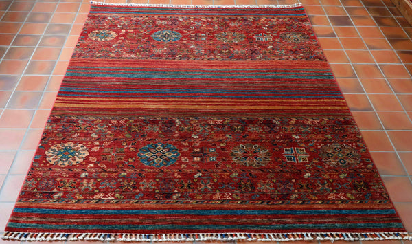 For many people owning a genuine hand made carpet is a significant purchase, it should be a household item that stays in pride of place for a generation, if cared for sensibly, regular vacuming is esential to void premature wear. Other than that a professional clean possibly once or twice in it's life should be sufficient