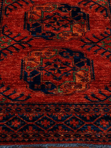 Traditional Afghan Ersari rug - 295842