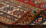 the back of a rug can tell you the fineness of a piece