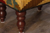 Small Turkish kilim stool - 296207