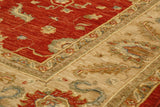 Extra fine Afghan Ziegler with silk highlights - 306311