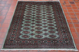 Luxury Mori Pakistan Bokhara rug - 307061