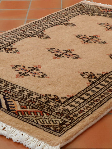Luxury Mori Pakistan Bokhara rug - 307069
