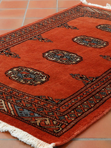 Luxury Mori Pakistan Bokhara rug - 307070