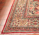This type of carpet has become rare to find in this quality and colouring.