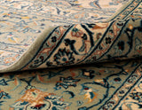 This Persian Kashan carpet is both practical and hard wearing for and suitable for use anywhere in the room.