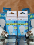 Large Edison screw LED lightbulb (cool white) - LESCW6W
