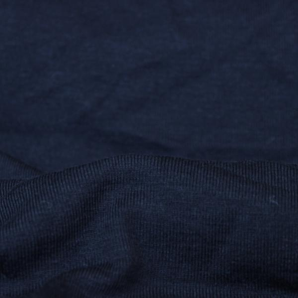 Fabric Washed Rib 1x1 Black 10-10.5 oz.