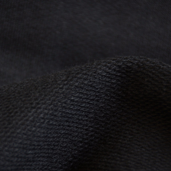 French Terry Black 10-10.5 oz