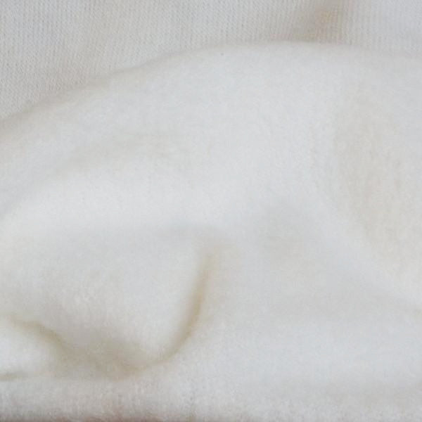 Bamboo Hemp Sherpa White 9-9.5 oz