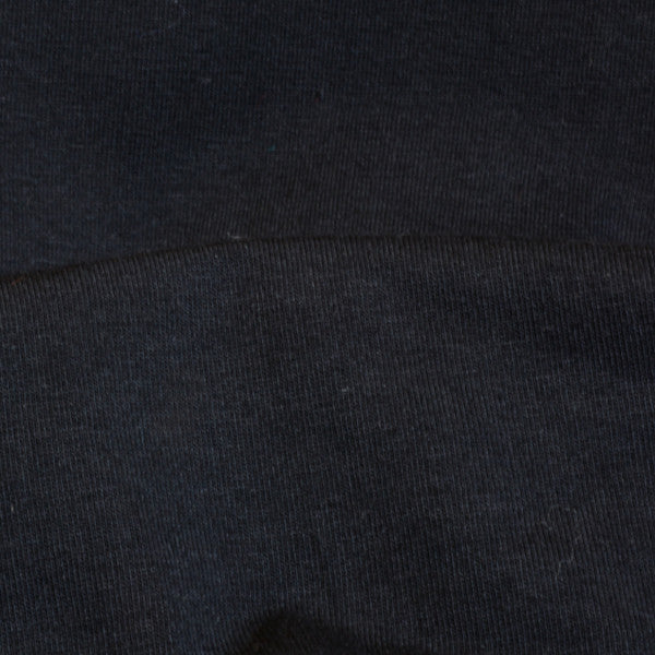 Organic Cotton Spandex Jersey Black 9.5-10 oz.