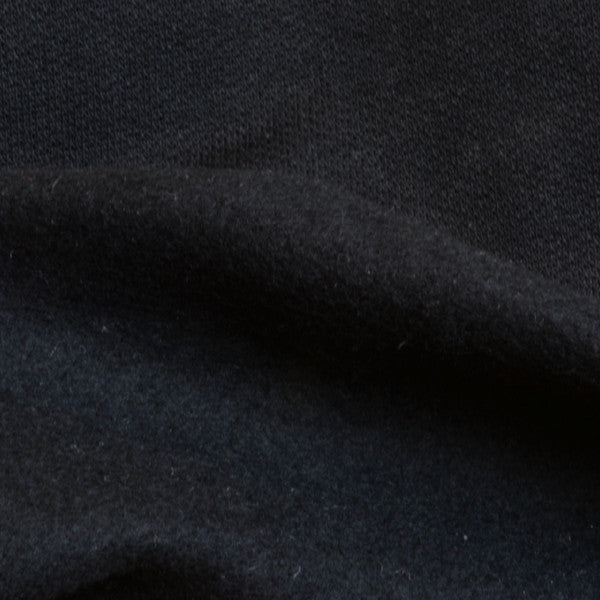 Organic Cotton Fleece Black 8.5-9 oz