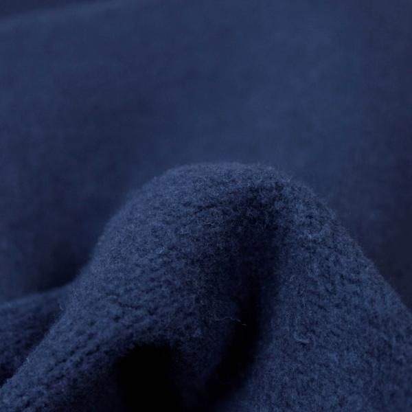 Fabric Washed Heavy Cotton Fleece Dark Sapphire 17-17.5 oz.