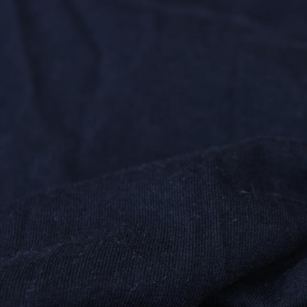 Fabric Washed Bamboo Cotton Superfine Jersey Black 5.5-6 oz.