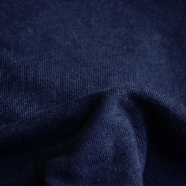 Bamboo Cotton Superfine Jersey Navy 5.5-6 oz.