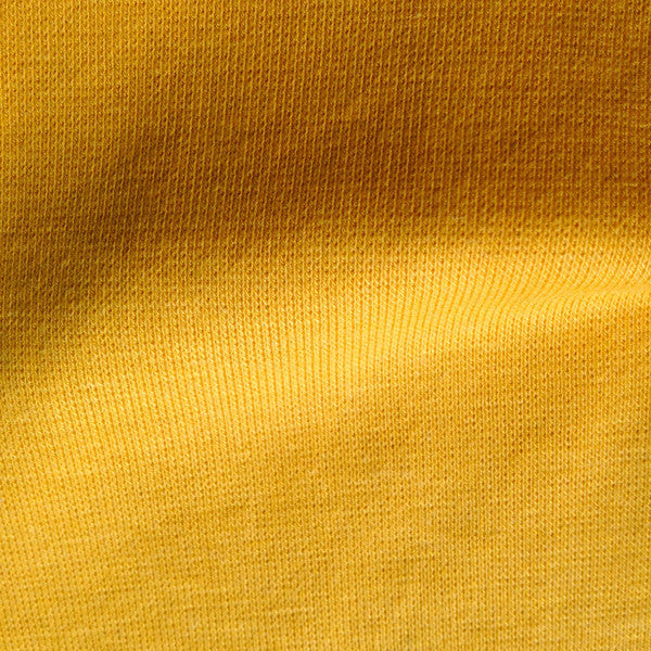 Bamboo Cotton Spandex Rib 1x1 Gold 10.5-11 oz.