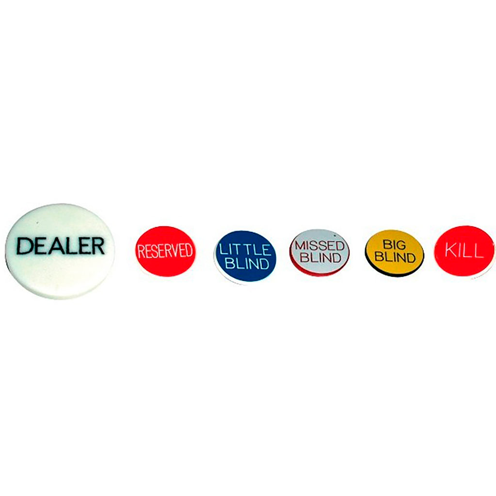 Dealer button sett