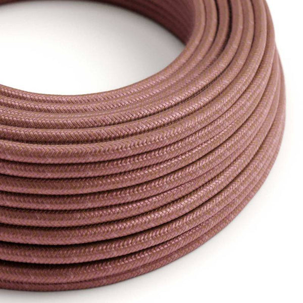 Eddie & Sons Round Fabric Cable - Muted Copper (5 Meter Length)