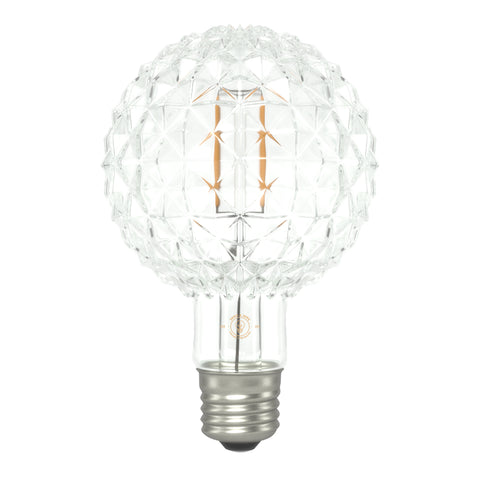Eddie & Sons Small Crystal Globe LED Bulb 4W
