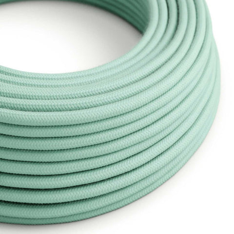 Eddie & Sons Round Fabric Cable - Peppermint (5 Meter Length)