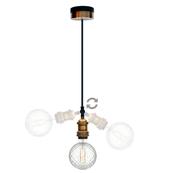 Pype Single Drop Ceiling Pendant