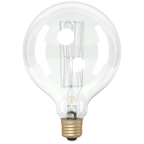 G125 Super Large Globe Squirrel Cage Filament Vintage Light Bulb