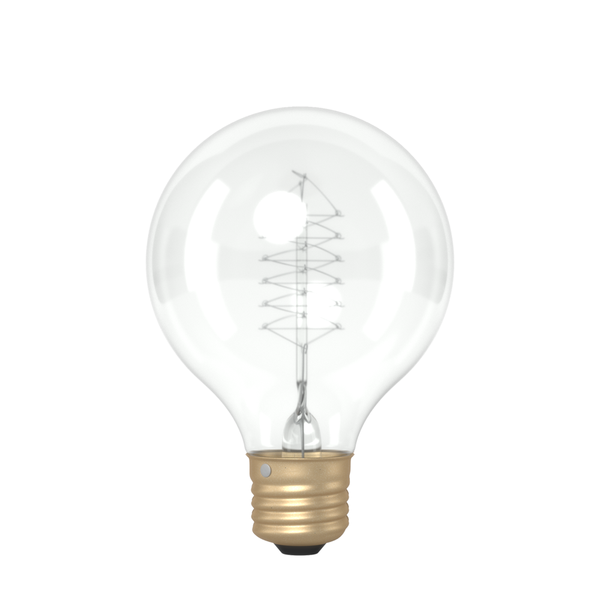 G80 Small Globe Spiral Filament Vintage Light Bulb (E27 FITTING)